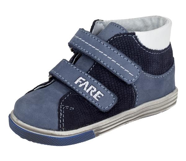 Fare Dětské celoroční boty kotníkové fare 2127102 Modrá 21