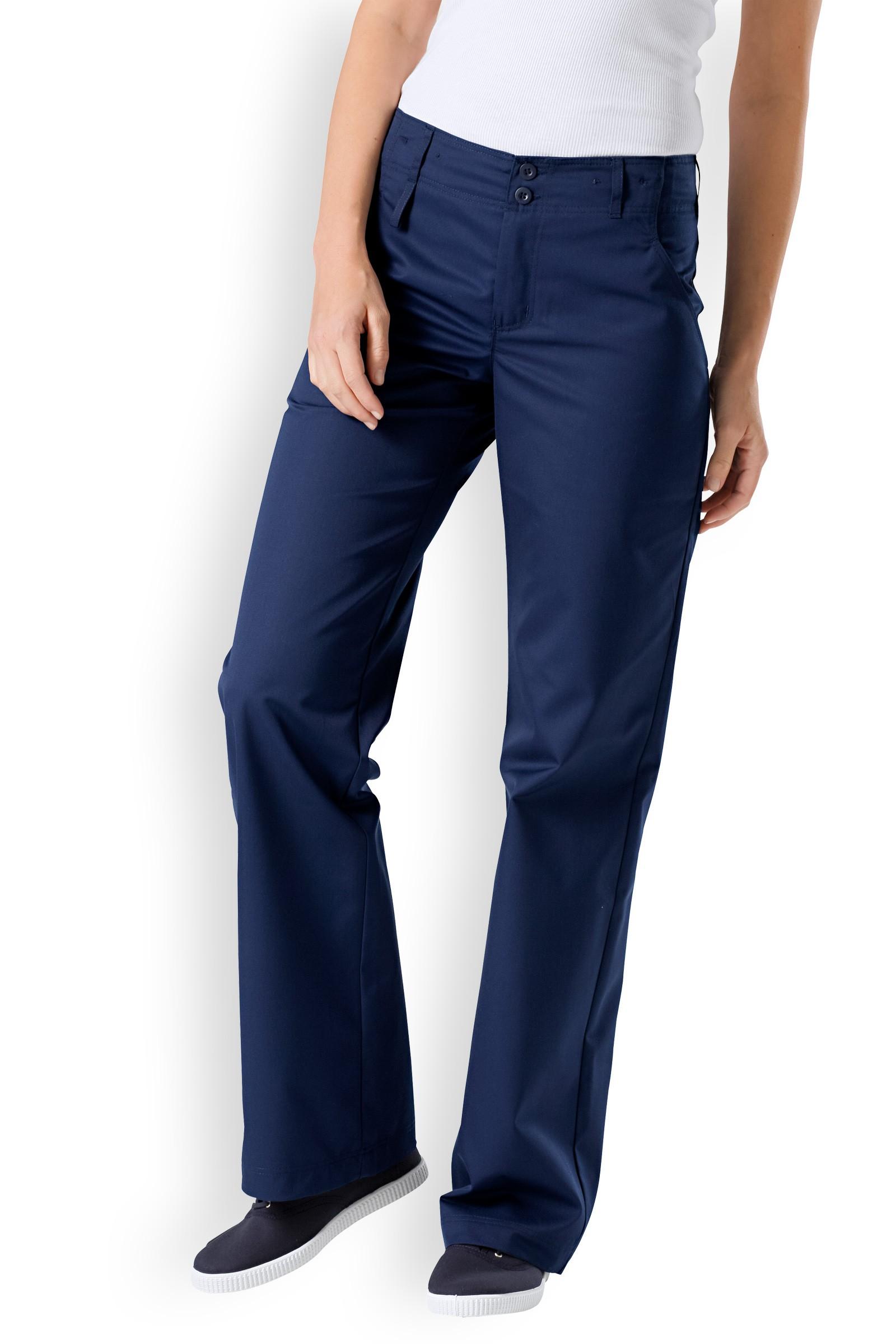 Clinic Dress Dámské dlouhé hladké kalhoty Clinic Dress Béžová 38