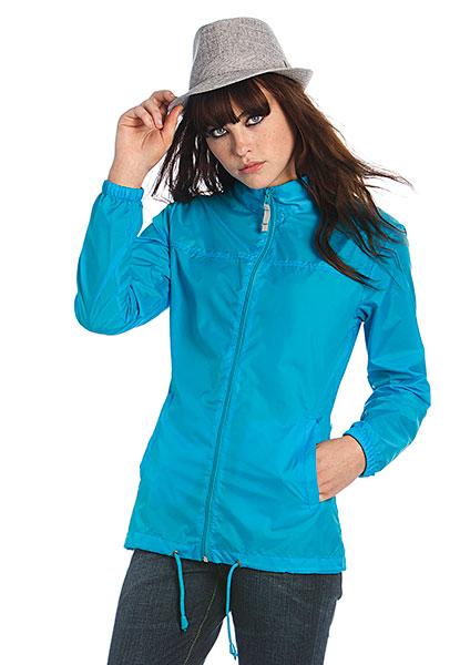 B&C Dámská bunda B&C Ladies Windbreaker Žlutá XL