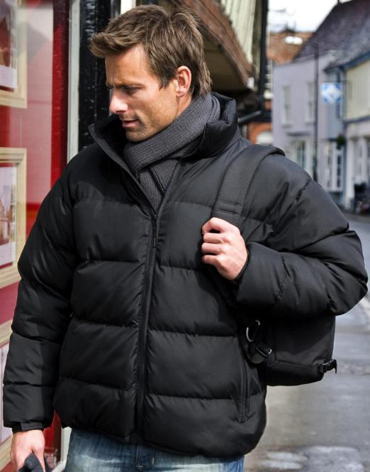 Result Pánská zimní bunda Result Černá S