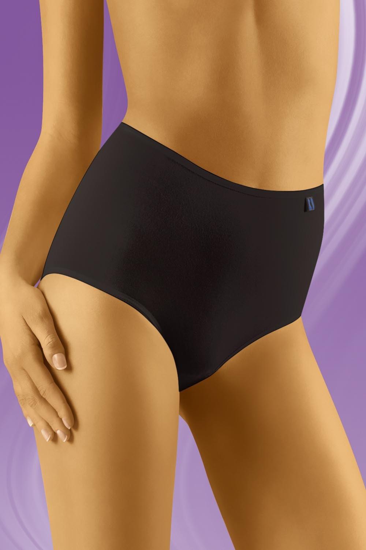 WOLBAR Dámské kalhotky TAHOO - Maxi plus black XXL 3 XL