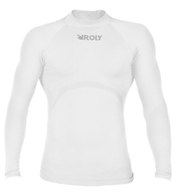 Roly Pánské thermo triko s dlouhým rukávem Best Roly Bílá XS / S