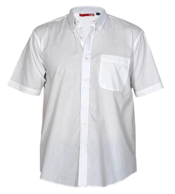 Roly Pánská košile s krátkým rukávem Ifos Bílá XXXL