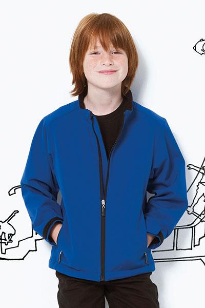 SG Dětská softshellová bunda SG Černá 104