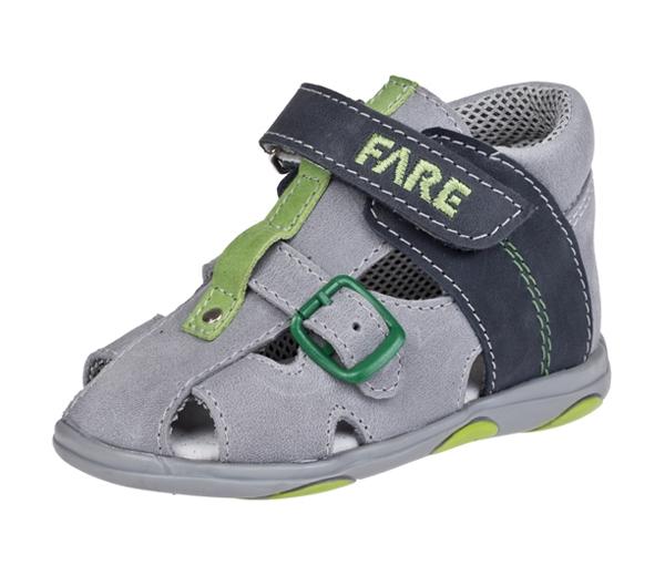 Fare Dětské sandály Fare 560161 Modrá 26