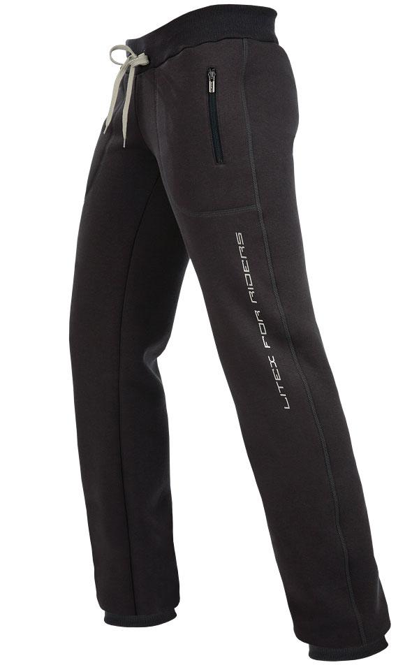LITEX Kalhoty dámské dlouhé bokové Litex 044 Antracitová XS