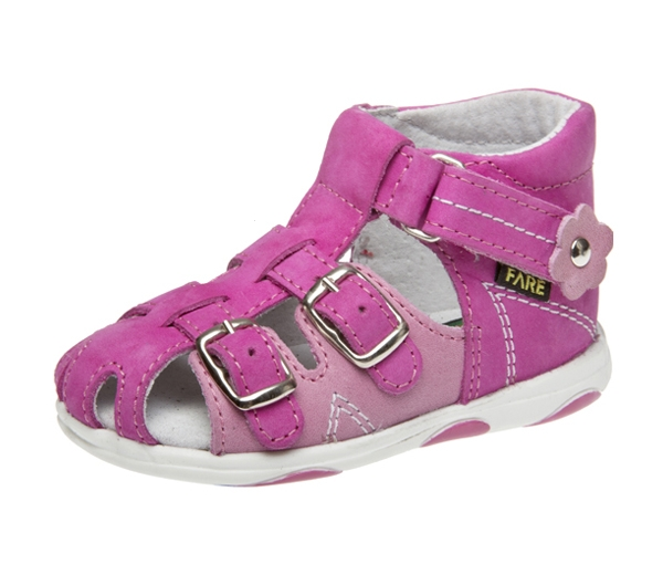 Fare Dětské sandály Fare 568153 Růžová 26