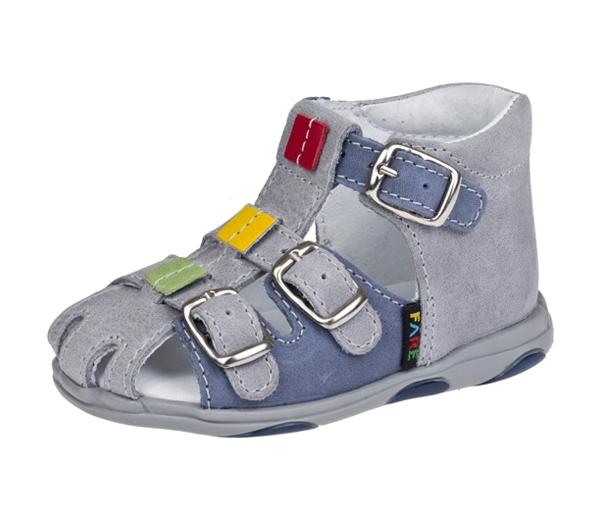 Fare Dětské sandály Fare 568163 Modrá 26