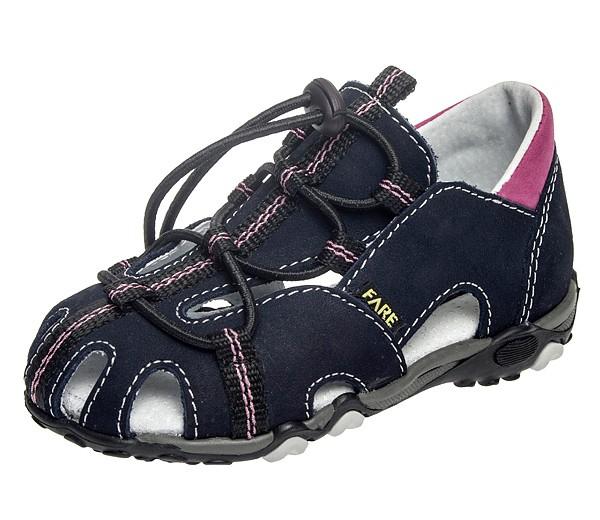 Fare Dětská letní obuv Fare Černá 25
