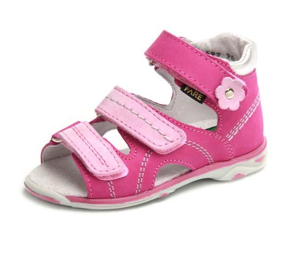 Fare Dětské sandály Fare 768251 Růžová 26