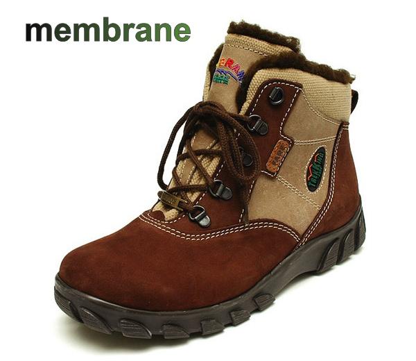 Fare Chlapecké zimní trekové boty Fare 2642221 Hnědá / Béžová 31