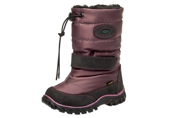 Fare Dětská zimní obuv Fare Tmavá fialová 23
