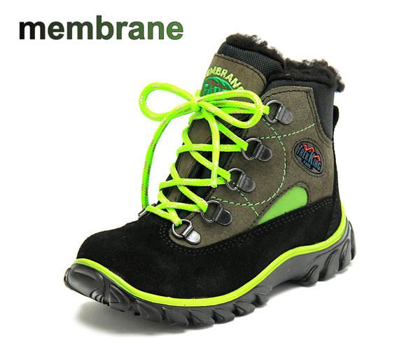 Fare Dětské zimní trekové boty Fare 847214 Hnědá / Černá 27