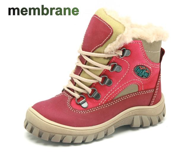 Fare Dětské zimní trekové boty Fare 847251 Růžová 29