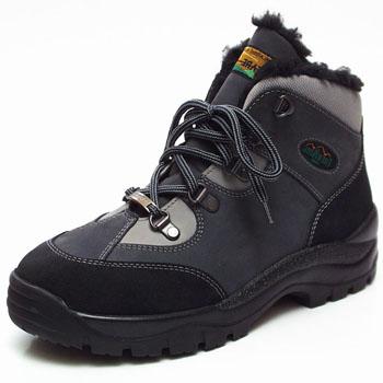 Fare Unisex zimní trekové boty Fare 2302261 Šedá / Černá 36