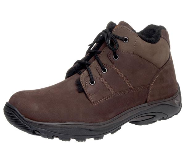Fare Pánské zimní boty kotníkové Fare 1202822 Hnědá 46