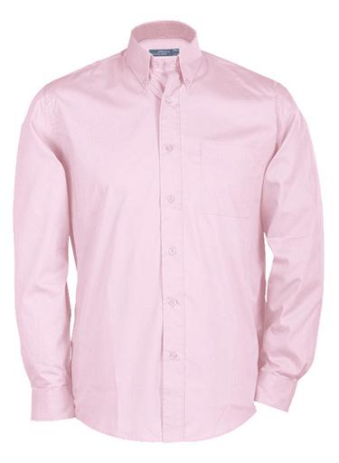 James & Nicholson Pánská košile s dlouhým rukávem James & Nicholson JN064 Přírodní S