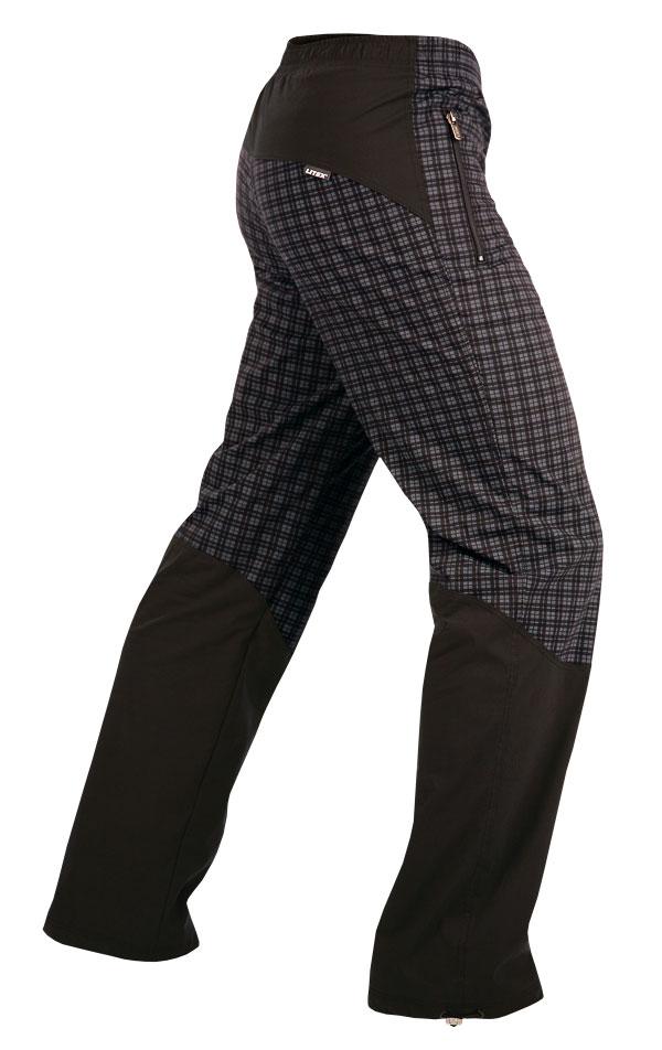 LITEX Pánské kalhoty zateplené Litex 382 Tisk XL