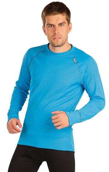 LITEX Pánské thermo triko s dlouhým rukávem Litex 487 Černá 2XL