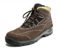 Fare Pánské zimní boty kotníkové 2202221 Hnědá 41