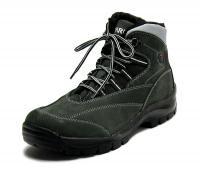 Fare Pánské zimní kotníkové boty 2202262 Šedá 43