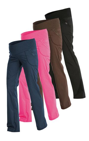 LITEX Dámské těhotenské kalhoty dlouhé Litex 526 Hnědá S
