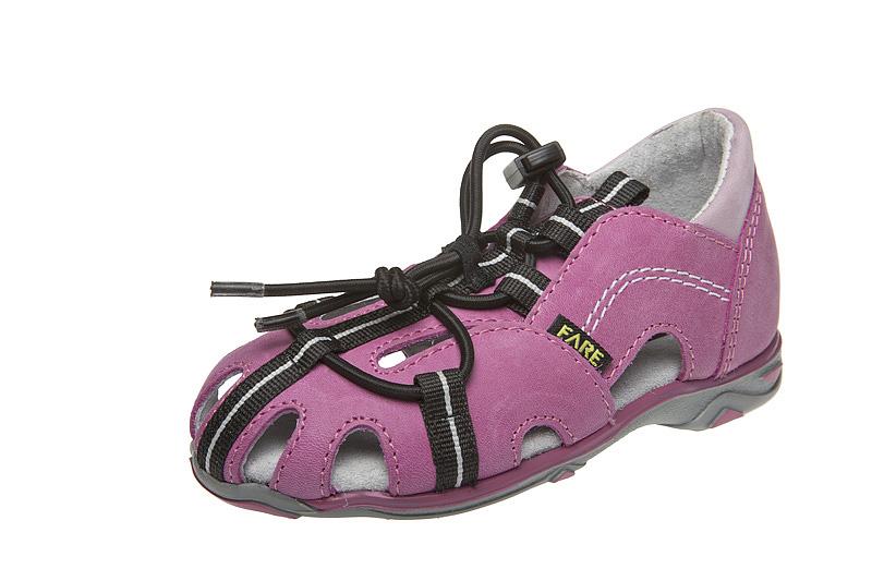 Fare Dětské sandály Fare 764151 Růžová 26