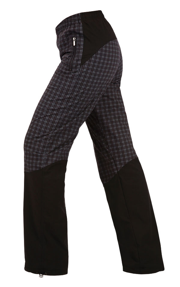 LITEX Dámské kalhoty zateplené Litex 381 Tisk S