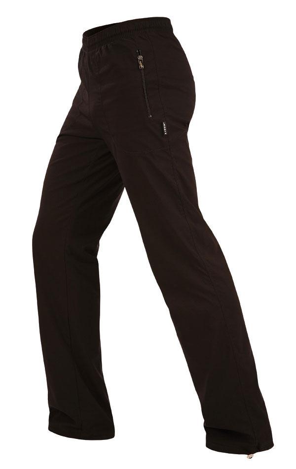 LITEX Pánské kalhoty zateplené - prodloužené Litex 111 Černá MP