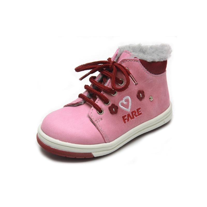 Fare Dětská obuv zimní 2142153 FARE Růžová 24