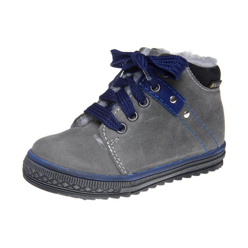 Fare Dětská obuv zimní 2142161 FARE Šedá 19