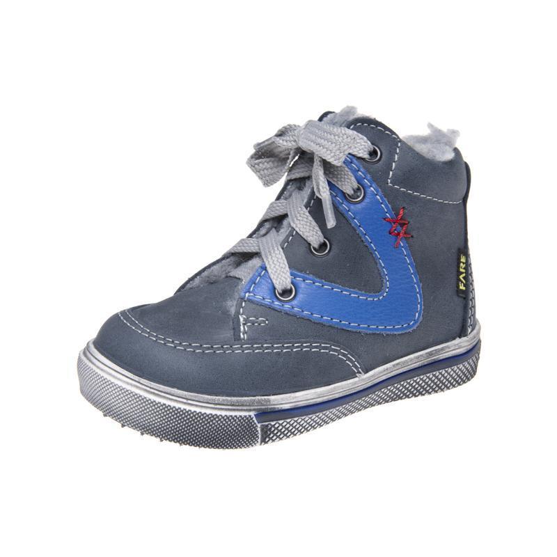Fare Dětská obuv zimní 2144102 FARE Šedá / Modrá 19
