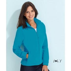Sols Dámská fleecová bunda na zip Sol´s - North women Černá S