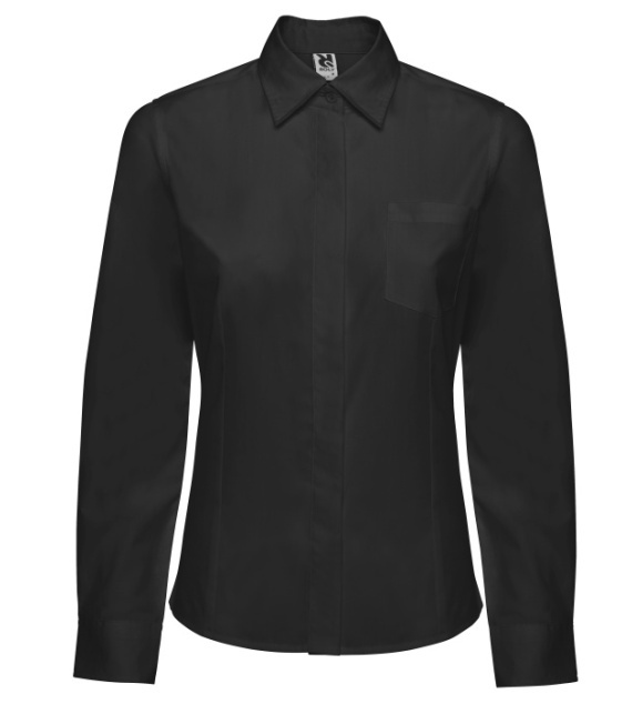 Dámská košile s dlouhým rukávem Sofia Černá S