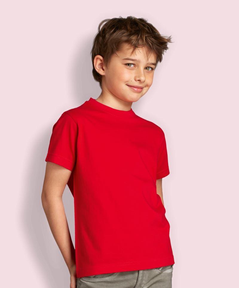 Sols Dětské triko s kulatým výstřihem Sol´s - Imperial Kids Bílá 2 roky (86 - 94 cm)