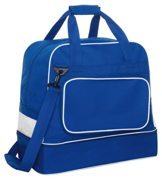Roly Sportovní taška Striker ROLY Černá / Bílá