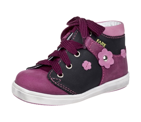 Dětské celoroční boty kotníkové 2126193 Růžová 21