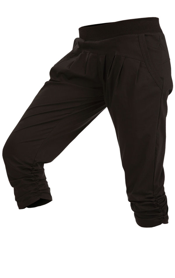 LITEX Dámské 3/4 kalhoty Litex 89169 Černá S