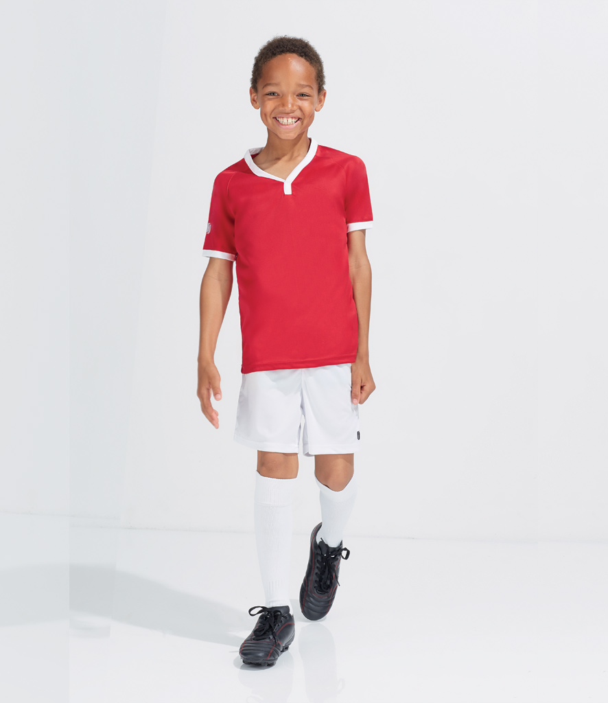 Sols Dětské sportovní kraťasy San Siro2 01222 Sol's Královská modrá 6 let