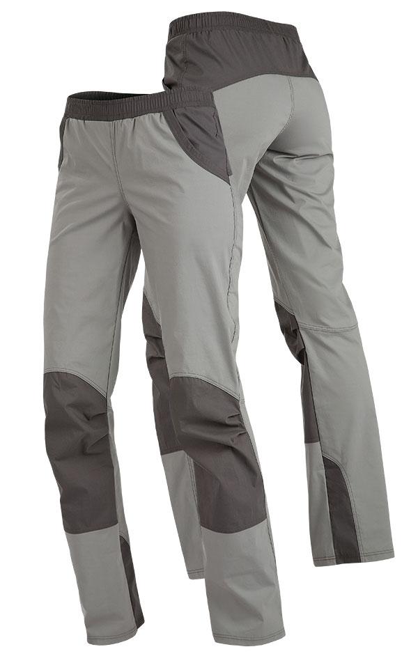 LITEX Dámské kalhoty do pasu Litex 89179 Šedá S