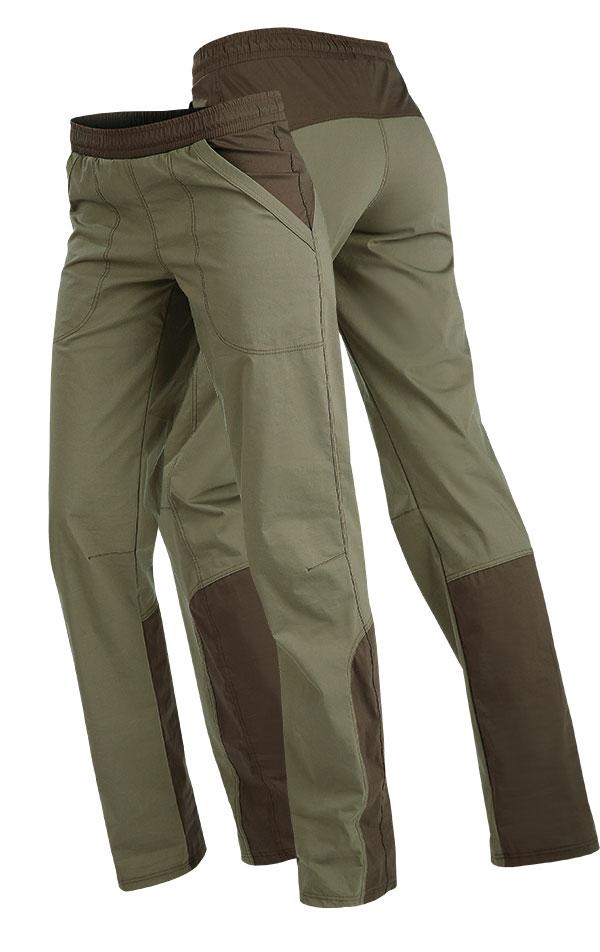 LITEX Dámské kalhoty do pasu Litex 89180 Khaki S