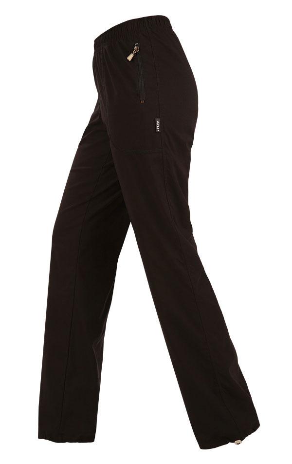 LITEX Zateplené dámské kalhoty prodloužené Litex 87109 Černá MP