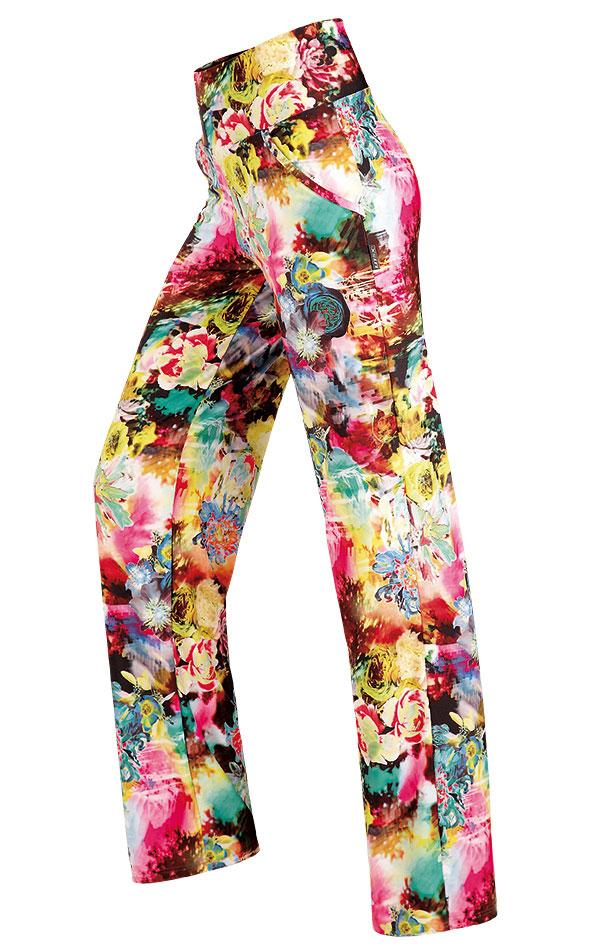 LITEX Dámské kalhoty dlouhé Litex 89006 Barevná S