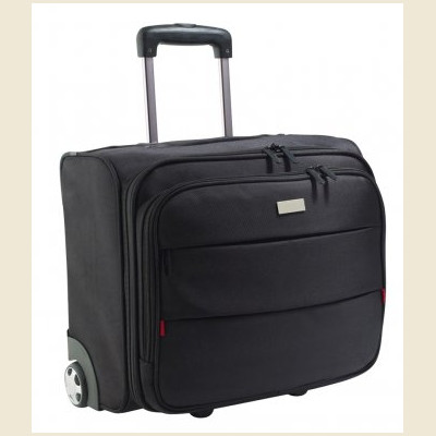 Sols Cestovní taška na kolečkách z polyesteru JET LAG Sol´s Černá