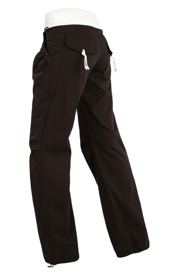 LITEX Dámské kalhoty bokové dlouhé Litex 209 Černá S