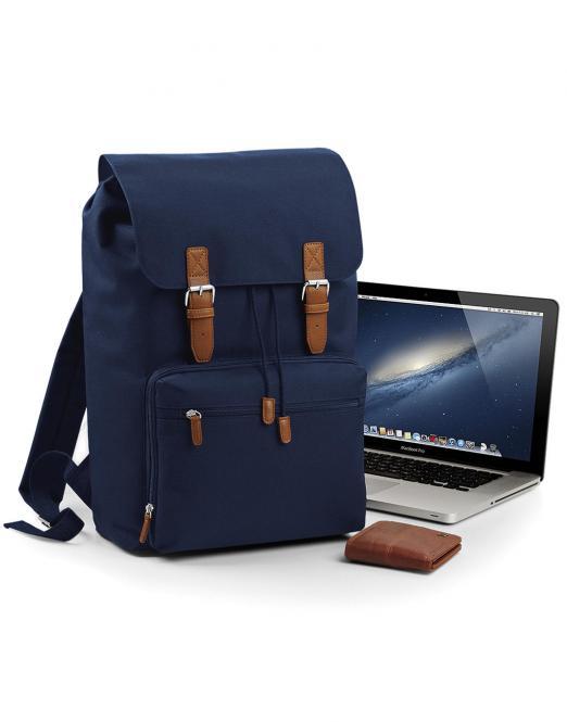Bag Base Batoh na laptop Vintage BAG BASE Černá