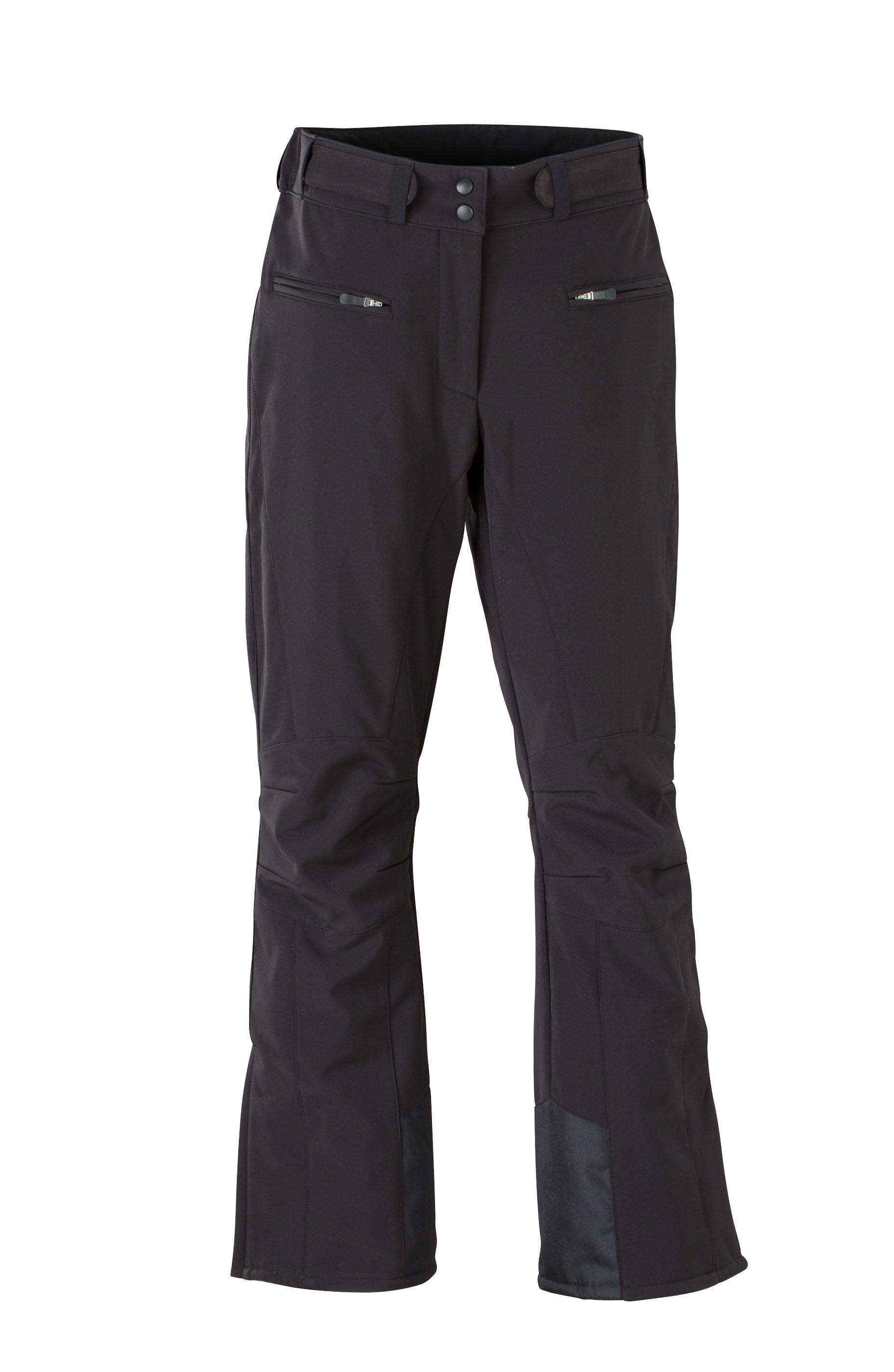 James & Nicholson Dámské zimní sportovní kalhoty James & Nicholson JN1051 Černá S
