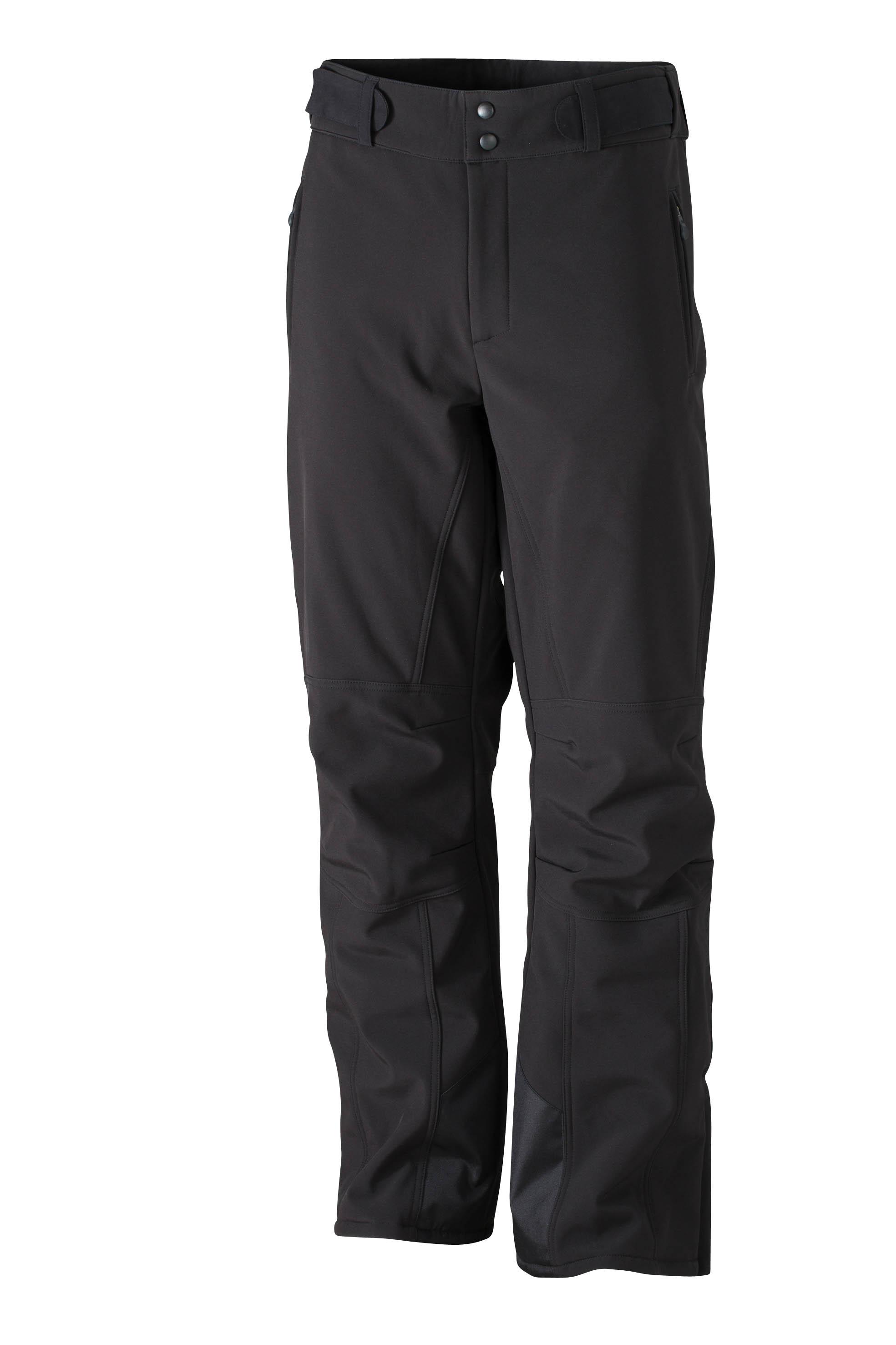 James & Nicholson Pánské zimní sportovní kalhoty James & Nicholson JN1052 Černá S