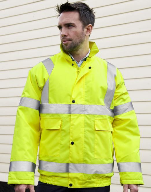 Result Bezpečnostní bunda Result High Viz Winter Blouson Reflexní oranžová XL