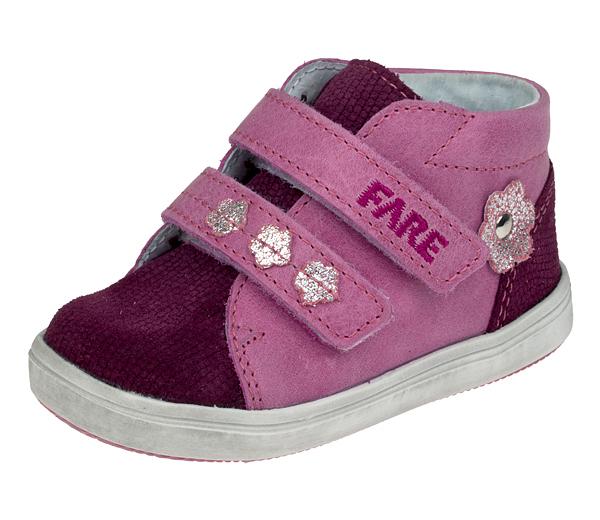 Dětské celoroční boty kotníkové 2155351 Růžová 21